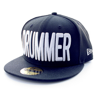 DRUMMERS TOP TEAM DTT CAP01 MAKE : NEW ERA(59FIFTY) BLACK
