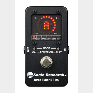 Sonic Research ST-300 Turbo Tuner チューナー 【WEBSHOP】