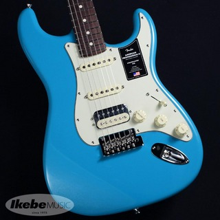 Fender USA American Professional II Stratocaster HSS (Miami Blue / Rosewood )