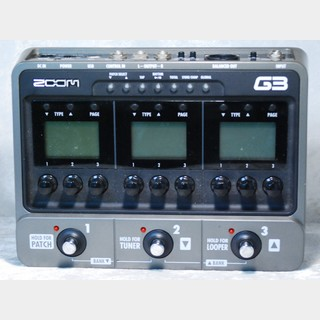 ZOOM G3 Guitar Effects & Amp Simulator Pedal ☆送料無料12/25 20:30まで!☆