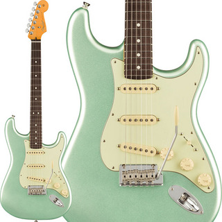 Fender USA American Professional II Stratocaster (Mystic Surf Green/Rosewood)