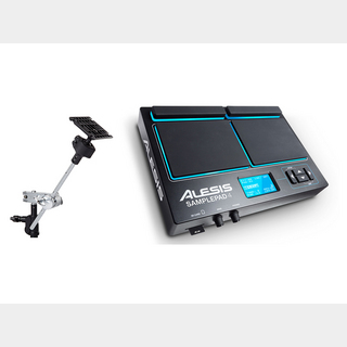 ALESIS SamplePad 4 Multipad Clampセット 【数量限定特価!!】