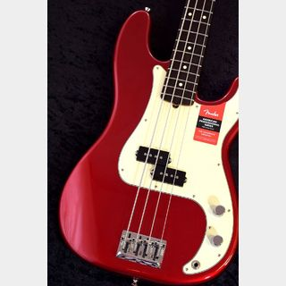Fender American Professional Precision Bass -Candy Apple Red/R-【NEW】※軽量個体 !【総本店】