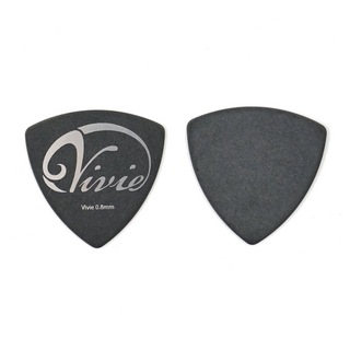 Vivie Pick 0.8 Sliver Triangle ギターピック×10枚