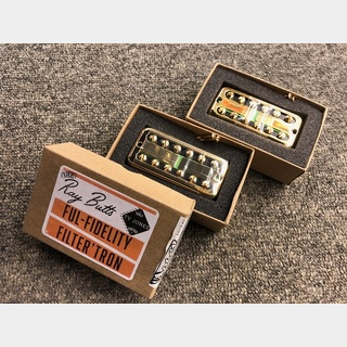 TV JONES Ray Butts Ful-Fidelity Filter'Tron Gold BN Set【ブランク仕様】【送料無料】【即納可能】