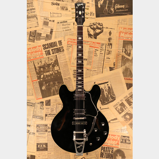 "Gibson 1969 ES-335TD ""Original Black with Factory Bigsby B7"""