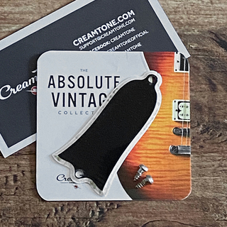CreamTone Truss Rod Cover for Vintage and Historic Les Paul -Aged and Rolled-