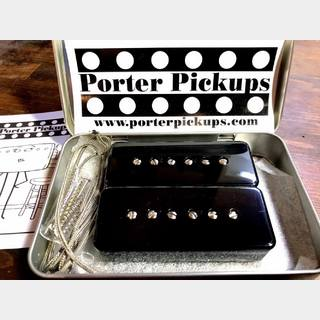 Porter Pickups P90 Set - Smooth/Classic - Black