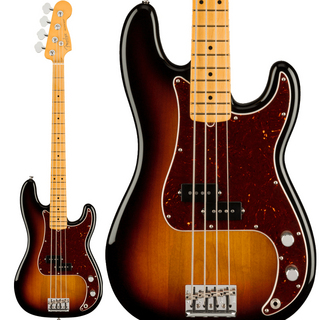 Fender American Professional II Precision Bass (3-Color Sunburst/Maple)