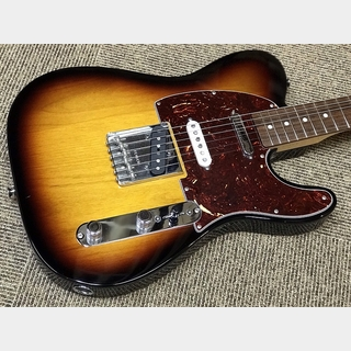Fender Deluxe Nashville Tele RW Brown Sunburst