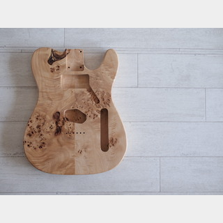 CUSTOM Made Spalted Maple Telecaster Body