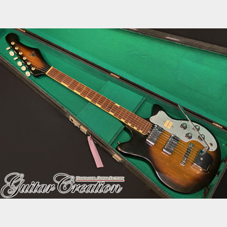 Teisco MJ-2L 1963年製【EARLY MODEL】w/HARD CASE 2.97kg