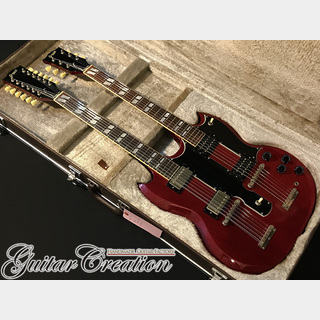 Greco SGW-1300 #Cherry【JIMMY PAGE STYLE】1980年製 w/Original Hard Case 4.8kg