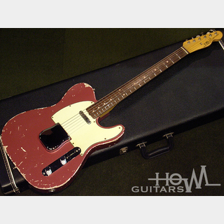 HOWL GUITARS Newscaster Burgundy Mist / Rose #021