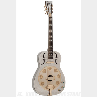 DEAN Resonator Thin Body Electric Chrome/Gold [RESCG]