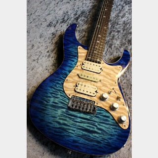 FREEDOM CUSTOM GUITAR RESEARCH Custom Order HYDRA 24F Alder Body Premium Grade Quilt Maple Top 清流バースト【月刊ハイドラ第六弾】