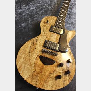 Bizen Custom Grain Arched Spalted Maple Top Jacaranda FB Matt Natural #200601 【ホンマホ】【ハカランダ】