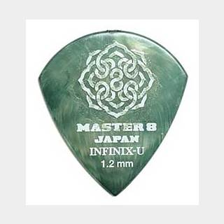 MASTER 8 JAPAN INFINIX-U JAZZ with Hard Grip 1.2mm [IFU-JZ120] ×10枚セット
