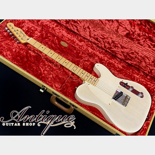 "Fender Custom Shop MBS Custom 1955 Esquire 2004年製 Vintage White Blonde Relic 3.24kg ""Built by John English"""