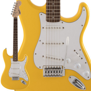 Squier by Fender FSR Affinity Series Graffiti Yellow エレキギター