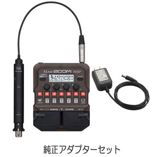 ZOOM A1 FOUR Multi-Effects Processor 純正アダプターセット