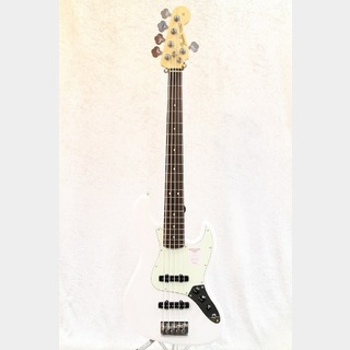 FenderMade in Japan Hybrid Jazz Bass V Rosewood / Arctic White★新宿スーパーセール!22日まで★