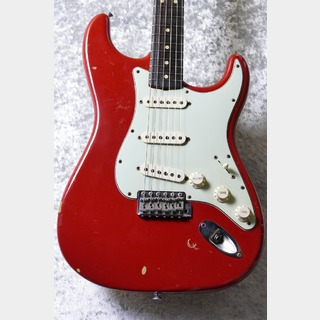 Fender Custom Shop 1964 Stratocaster Relic -Dakota Red Over 3 Tone- By,Dennis Galuszka【2006'USED】