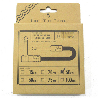 Free The Tone INSTRUMENT LINK CABLE CU-5050 30cm S/L