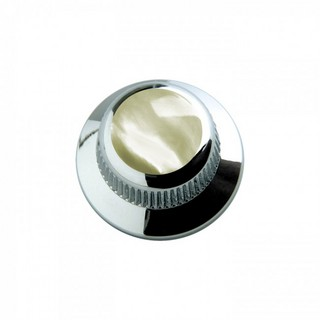 Q-PartsUFO KNOB TYPE [KCU-0722 / Mother of Pearl Shell in Chrome] 【展示品処分特価】