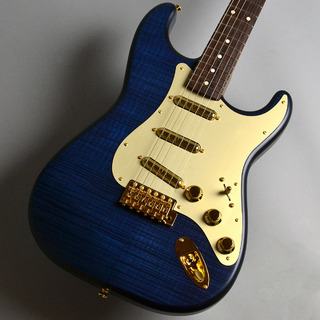 Fender Made in Japan 2020 Limited Collection Stratocaster Rosewood Fingerboard Natural Indigo Dye