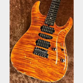 "T's Guitars DST-24 Carvedtop ""AAAAA Flame Maple Top""【極上中古品】【渋谷店】"
