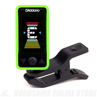 D'Addario Planet Waves Eclipse Tuner PW-CT-17 GN( クリップチューナー)