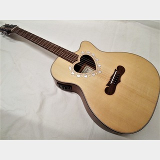 Zemaitis Orchestra Model Cutaway CAF-80HCW Natural