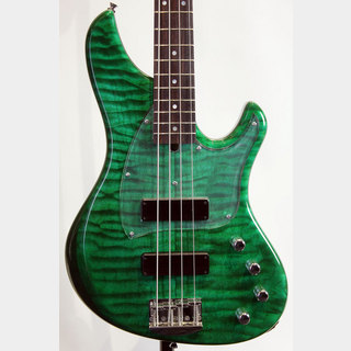Sago Ove BASS SIDE Custom ST-Green / Wenge Neck