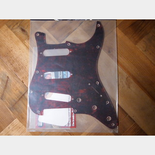 WD Custom Parts 1Ply Tortoise Celluloid Pickguard For Stratocaster