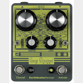 Earth Quaker Devices Gray Channel オーバードライブ 【心斎橋店】