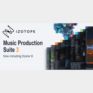iZotopeMusic Production Suite 3 CRG from any iZotope product【ダウンロード版】【代引き不可】