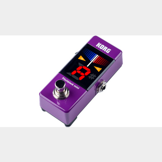 KORG Pitchblack mini Pedal Tuner PB-MINI Purple (PU)【福岡パルコ店】