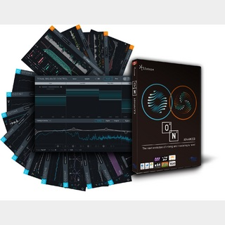 iZotope O8N2 Bundle プラグインバンドル (Ozone 8 Advanced + Neutron 2 Advanced) 【国内正規品】