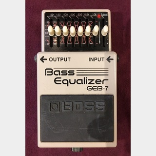 BOSS GEB-7 Bass Equalizer 【USED】 #2