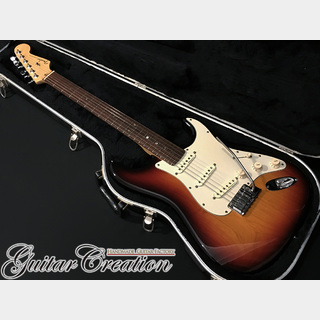 Fender USA American Deluxe Stratocaster 2001年製【3 Color Sunburst/Rose】w/Hard Case 3.75kg