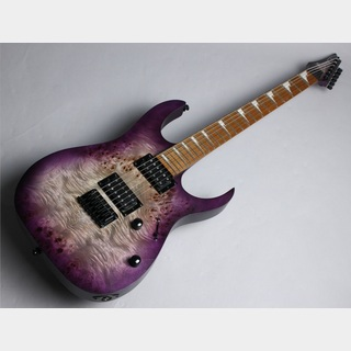 Ibanez RGRT621DPB Transparent Purple Burst Flat【限定モデル】