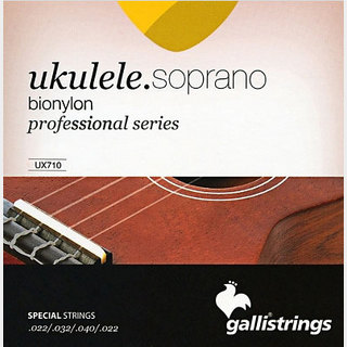 Galli StringsUX710 bionylon Soprano Ukulele Strings 22-22 ウクレレ弦【池袋店】