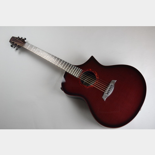 Composite acousticsHIGH GLOSS WINE RED BURST