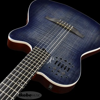 Godin ACS Denim Blue Flame (Synth Acces)FACTORY OUTLET!【SN.19132180】