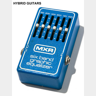 MXR MXR Six Band Graphic Equalizer