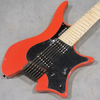 strandberg Boden Classic 7/Maple Coral Red 【新品同様美品USED】