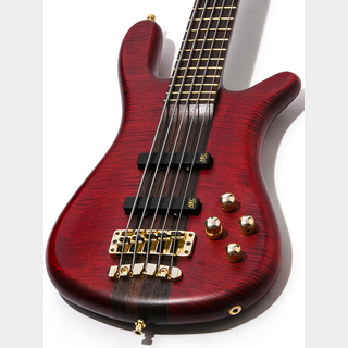Warwick Custom Shop Masterbuilt Streamer Stage I Burgandy Red 2015