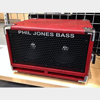 Phil Jones Bass BC-2 Bass Cabinet Red【即納可能!】