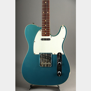 Fender Custom Shop Masterbuilt 1962 Custom Telecaster N.O.S Flame Neck/Lake Placid Blue by Fred Stuart 2000